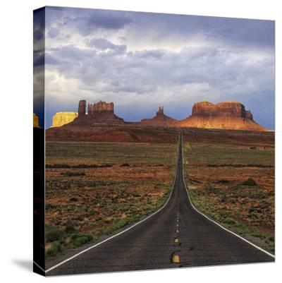 Monument Valley IV-Ike Leahy-Stretched Canvas Print