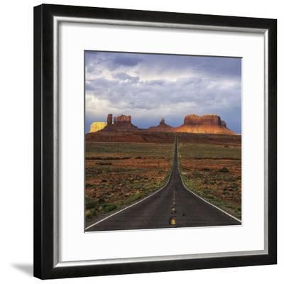 Monument Valley IV-Ike Leahy-Framed Photographic Print