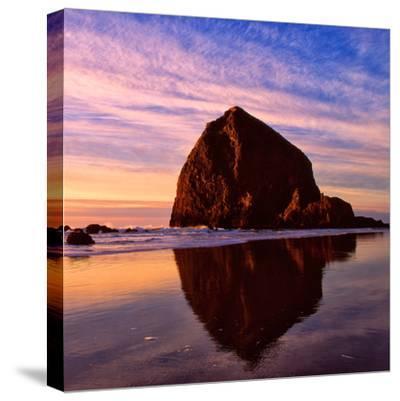 Cannon Beach IX-Ike Leahy-Stretched Canvas Print