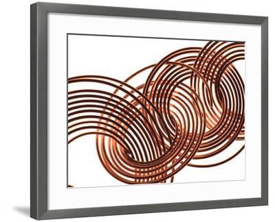 Intertwined Gold VIII-Monika Burkhart-Framed Photographic Print