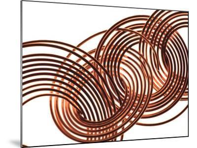 Intertwined Gold VIII-Monika Burkhart-Mounted Photographic Print