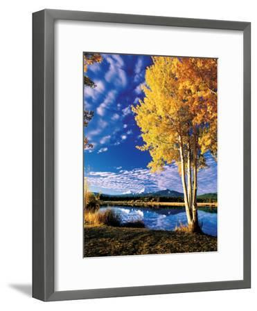 Sisters in Autumn II-Ike Leahy-Framed Photographic Print