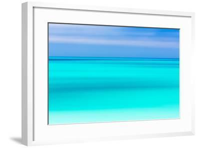 Tropical Abstract V-Kathy Mahan-Framed Photographic Print