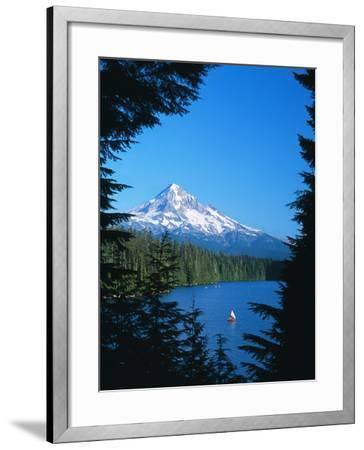 Mt. Hood VI-Ike Leahy-Framed Photographic Print