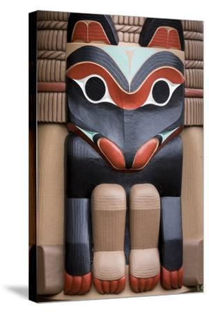 Native American Todem XI-Kathy Mahan-Stretched Canvas Print