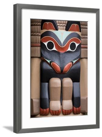 Native American Todem XI-Kathy Mahan-Framed Photographic Print