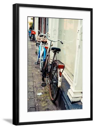 Rusty Bike-Erin Berzel-Framed Photographic Print