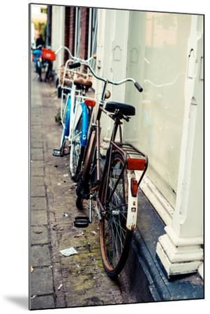 Rusty Bike-Erin Berzel-Mounted Photographic Print