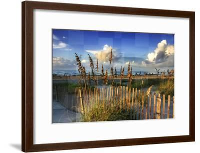 Morning on the Beach-Alan Hausenflock-Framed Photographic Print