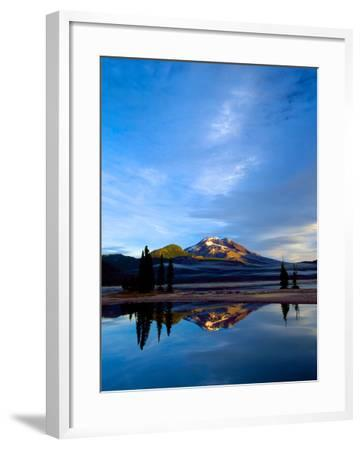 South Sister VII-Ike Leahy-Framed Photographic Print
