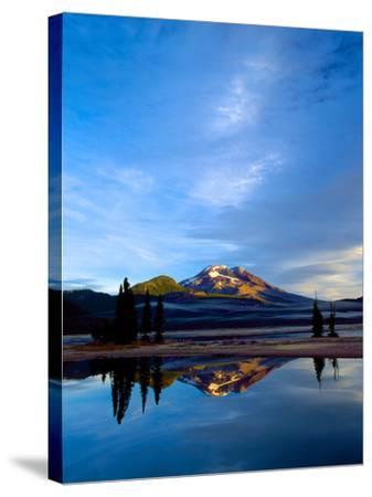 South Sister VII-Ike Leahy-Stretched Canvas Print