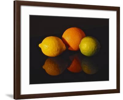 Citrus Reflections-Monika Burkhart-Framed Photographic Print