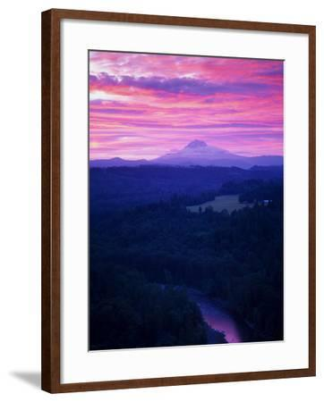 Mt. Hood XVII-Ike Leahy-Framed Photographic Print