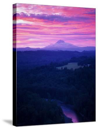 Mt. Hood XVII-Ike Leahy-Stretched Canvas Print
