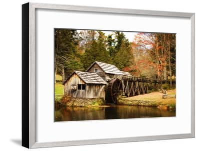 Mabry Mill III-Alan Hausenflock-Framed Photographic Print