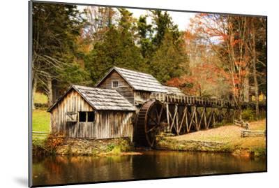 Mabry Mill III-Alan Hausenflock-Mounted Photographic Print