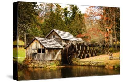 Mabry Mill III-Alan Hausenflock-Stretched Canvas Print