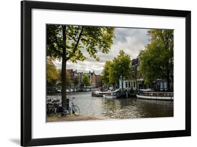 Amsterdam Canal III-Erin Berzel-Framed Photographic Print
