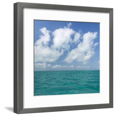 Tropical Seascape I-Kathy Mahan-Framed Photographic Print