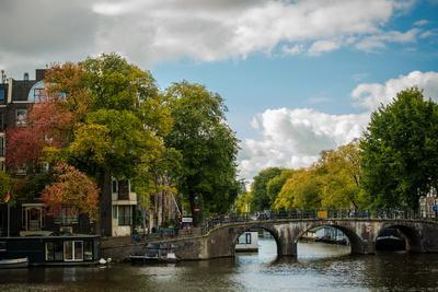 Autumn in Amsterdam-Erin Berzel-Photographic Print