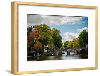Autumn in Amsterdam-Erin Berzel-Framed Photographic Print