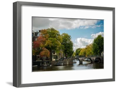 Autumn in Amsterdam-Erin Berzel-Framed Photographic Print