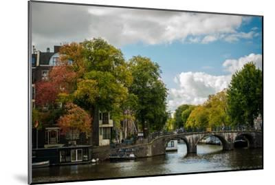 Autumn in Amsterdam-Erin Berzel-Mounted Photographic Print