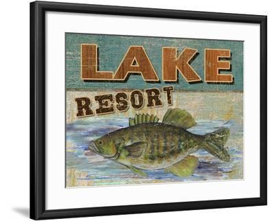 Lodge Get-a-Way-Todd Williams-Framed Art Print