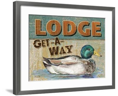 Lake Resort-Todd Williams-Framed Art Print
