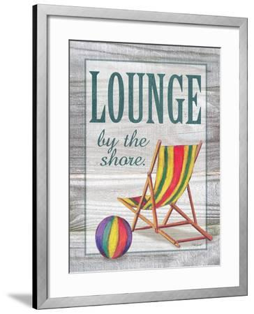 Lounge by the Shore-Todd Williams-Framed Art Print