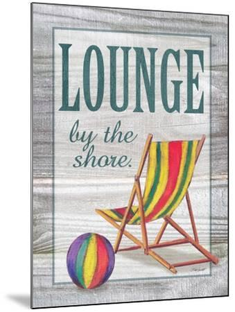 Lounge by the Shore-Todd Williams-Mounted Art Print