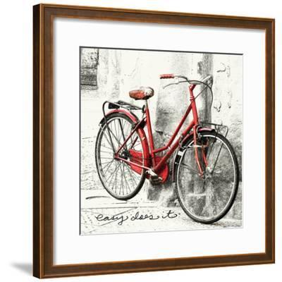 Easy Does It-Amy Melious-Framed Art Print