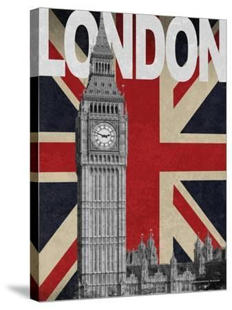 London-Todd Williams-Stretched Canvas Print