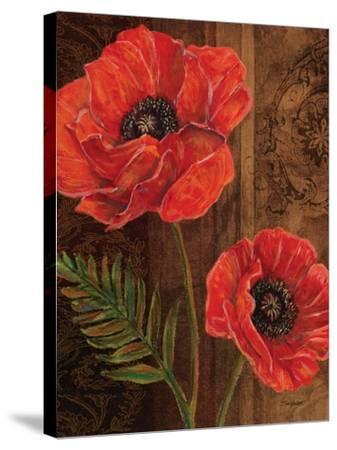 Poppy Portrait II-Todd Williams-Stretched Canvas Print