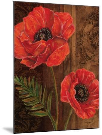 Poppy Portrait II-Todd Williams-Mounted Art Print