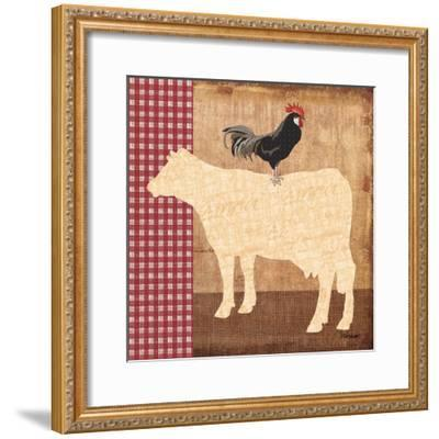 Cow-Todd Williams-Framed Art Print