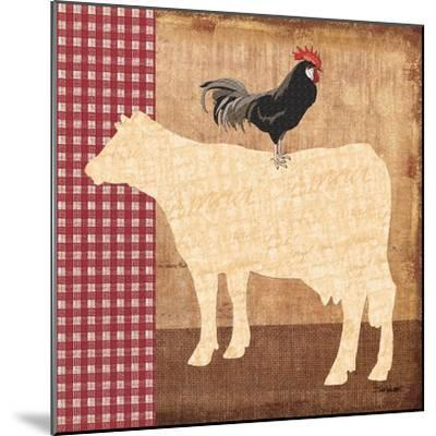 Cow-Todd Williams-Mounted Art Print