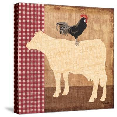 Cow-Todd Williams-Stretched Canvas Print