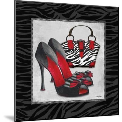 Zebra Fashion I-Todd Williams-Mounted Art Print