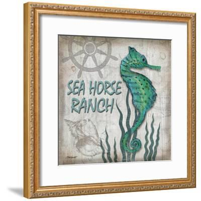 Sea Horse Ranch-Todd Williams-Framed Art Print