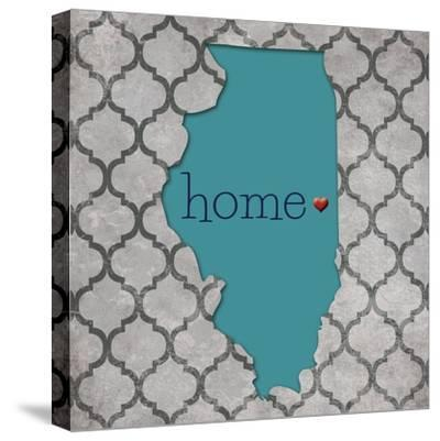 Illinois-N^ Harbick-Stretched Canvas Print