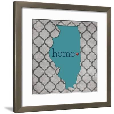 Illinois-N^ Harbick-Framed Art Print