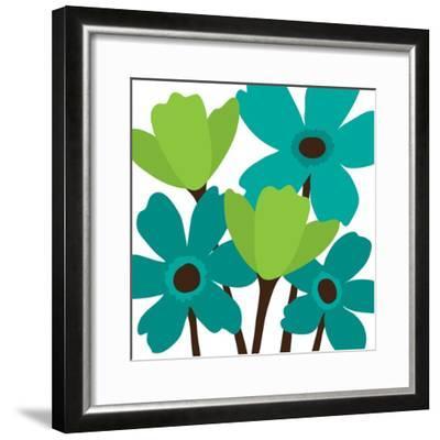 Spring Bouquet II-N^ Harbick-Framed Art Print