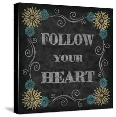 Chalkboard Inspirations I-N^ Harbick-Stretched Canvas Print