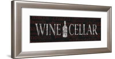 Wine Cellar-N^ Harbick-Framed Photographic Print