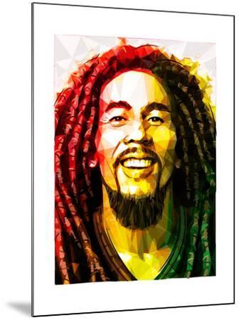 Bob Marley-Enrico Varrasso-Mounted Art Print