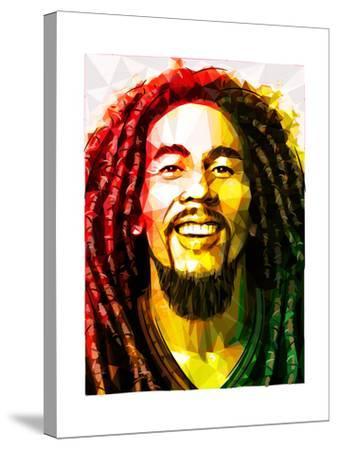Bob Marley-Enrico Varrasso-Stretched Canvas Print