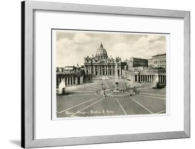 Basilica S Pietro-Alan Paul-Framed Art Print