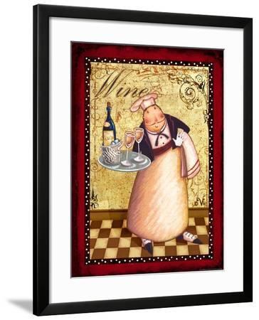 Chef 4 Wine-Viv Eisner-Framed Art Print