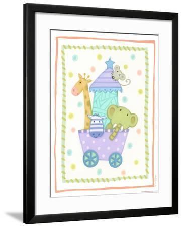 Animal Cart-Viv Eisner-Framed Art Print